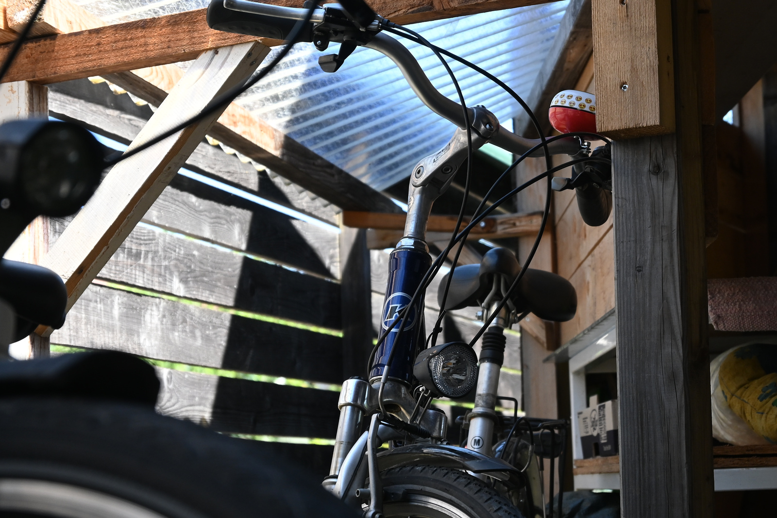 Eigenbau Fahrradgarage