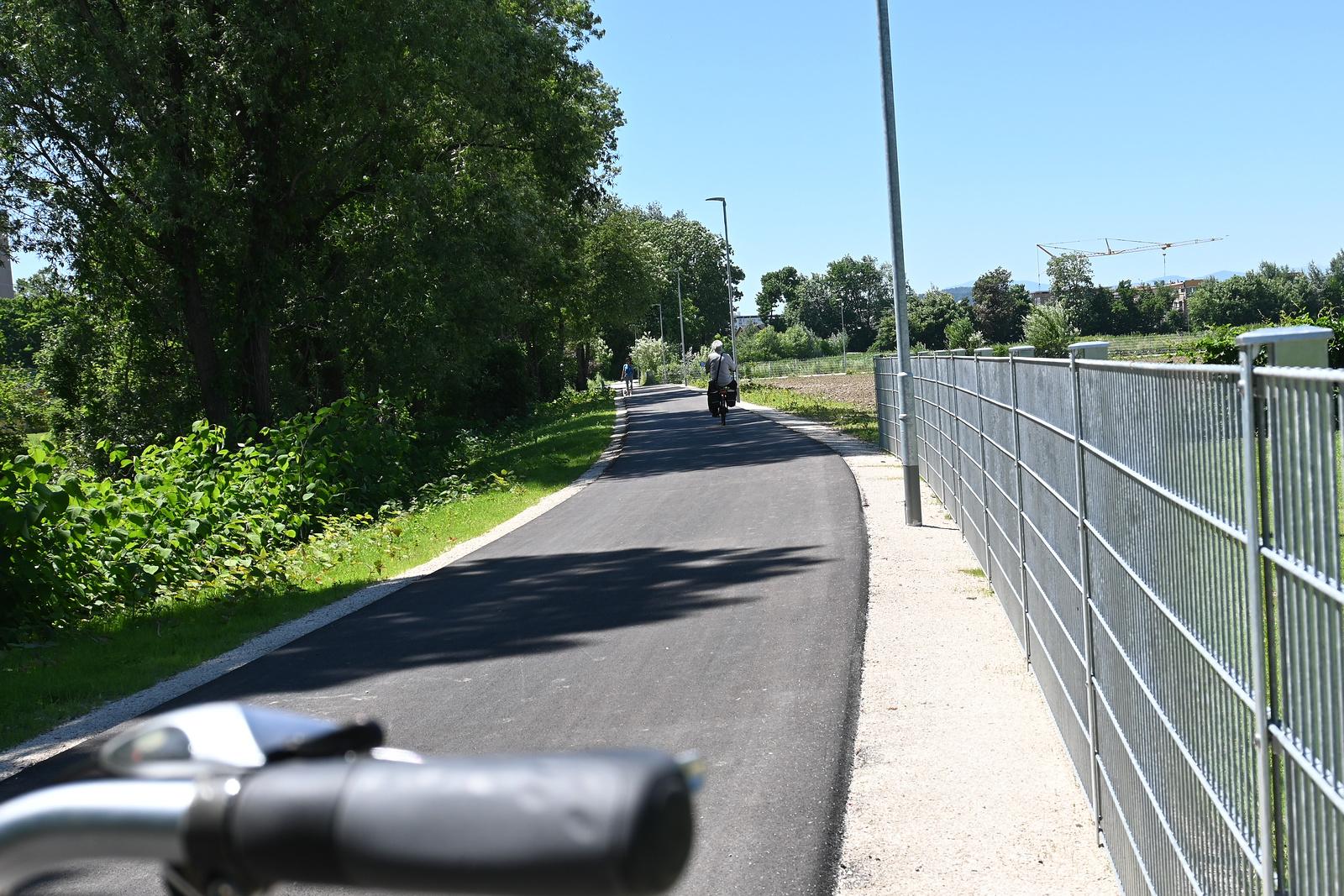 Ein neuer Radweg!