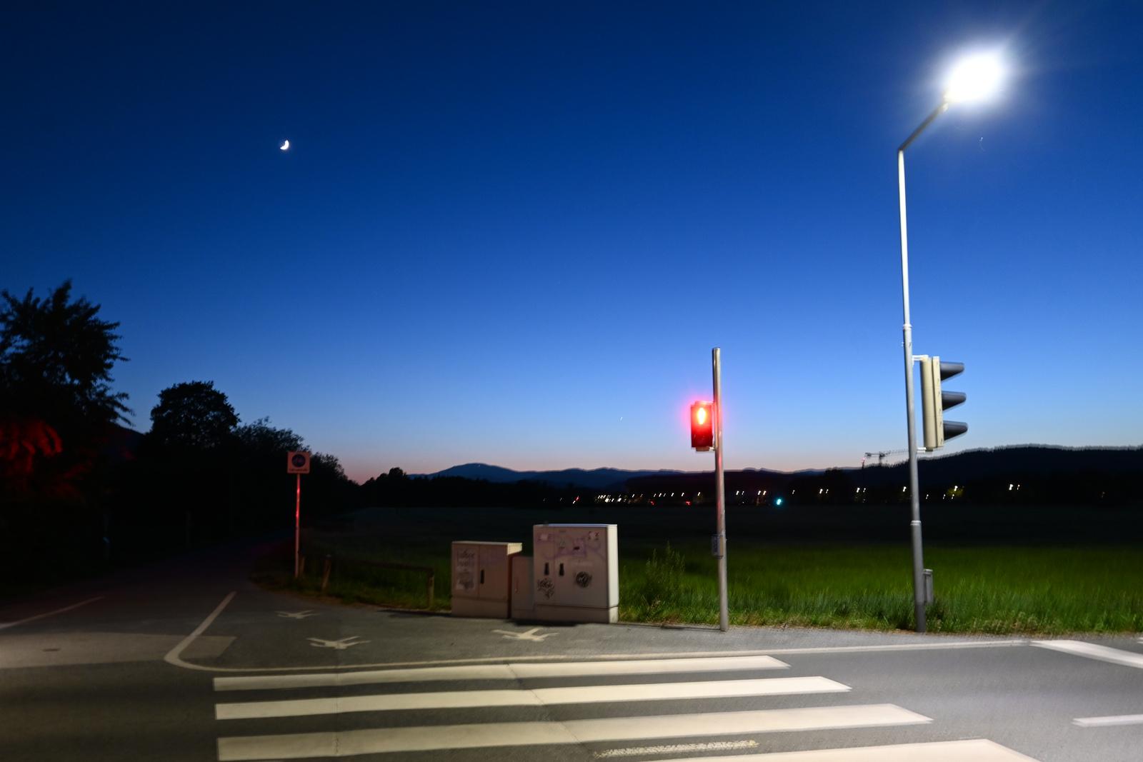 Blaue Stunde bei der Pondarosa