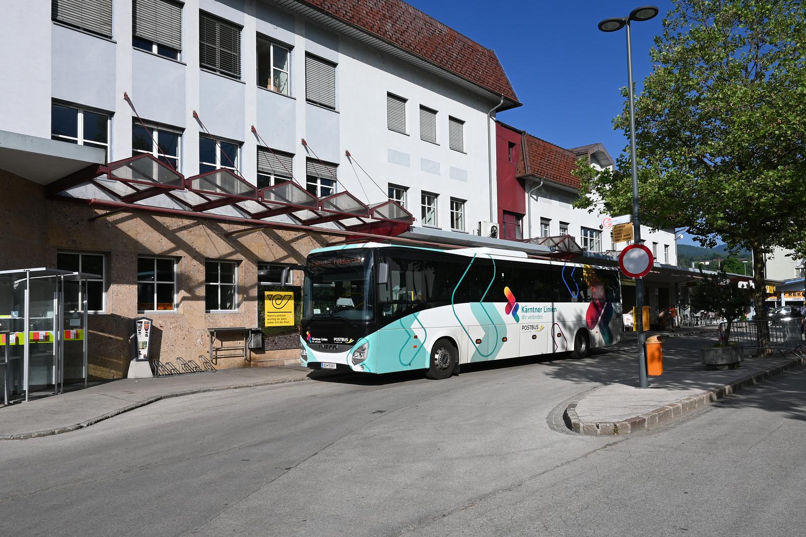 Busbahnhof Feldkirchen