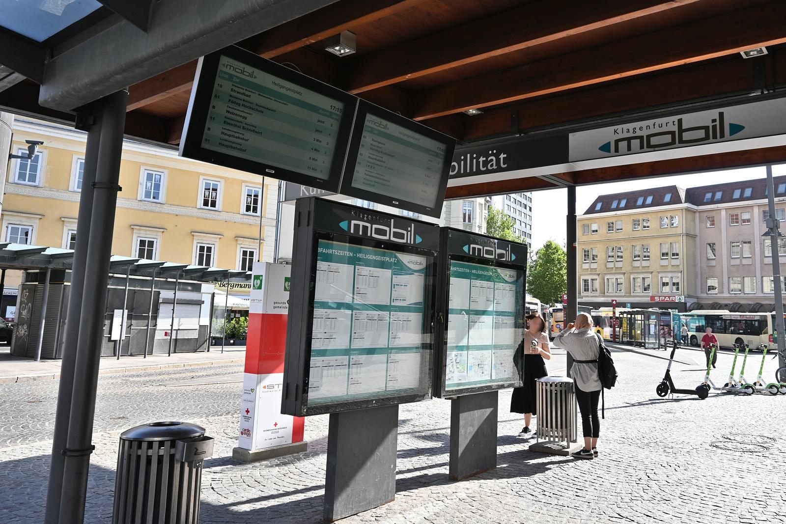 Klagenfurt Heiligengeistplatz