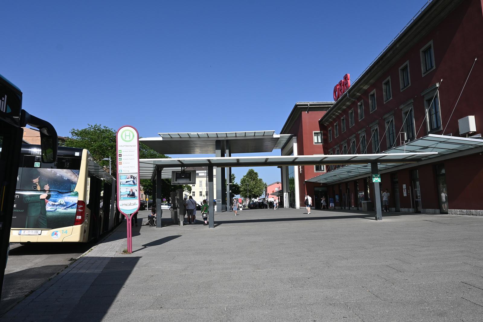 Klagenfurt Hauptbahnhof